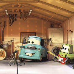 Mater and the Gas-Caps