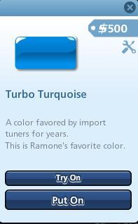 Turbo Turqouise