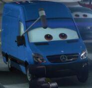 Mersedez Benz van