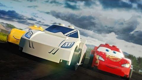 Stig vs Lightning McQueen