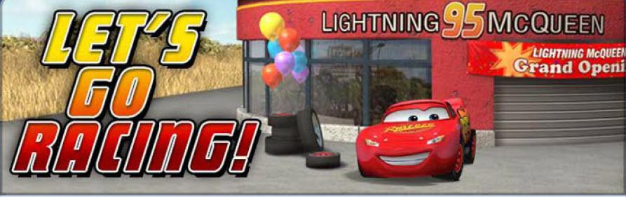 Lightning McQueen's Racing Headquarters