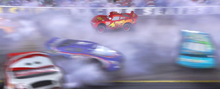Davey, Haul, Ernie in the crash