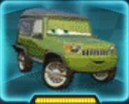 Miles Axlerod Cars 2 Icon