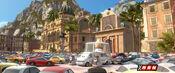 Pope with popemobile at Porto Corsa