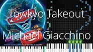 🎹 Towkyo Takeout, Michael Giacchino, Synthesia Piano Tutorial