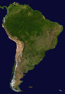 Cc-South America satellite plane
