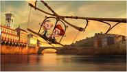 Sherman and Penny on Leonardo da Vinci's flying machine