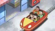 哆啦A夢641話 國語版中文版 坐雲霄飛車上學去