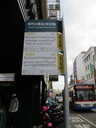 Bus stop of Hsinchu Train Station (中正路 5803 5804) 2020-02-05