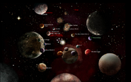 Universe Map (Official Worlds)