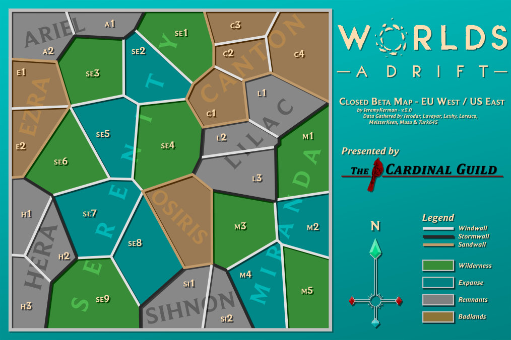 Worlds Adrift Map Us West Map   Official Worlds Adrift Wiki