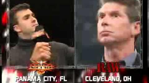 WCW Unforgotten Moment Shane McMahon Buys WCW to Compete with WWE's Vince McMahon