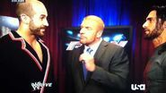 Cesaro Joins The Authority WWE RAW 7 21 2014