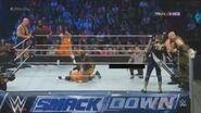 Big Show,Mark Henry,The Usos VS The Wyatt Family,Goldust,Stardust WWE Smackdown 12 September 2014 HD