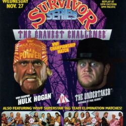 1991 pay-per-view events