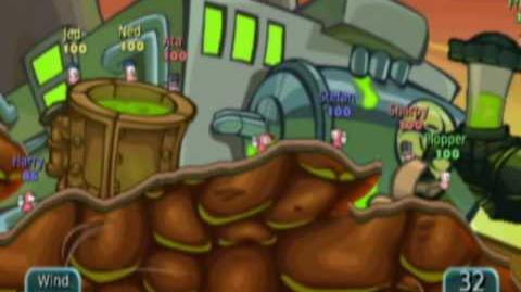Worms Battle Islands WiiWare Trailer