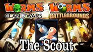 Worms Clan Wars Battlegrounds The Scout