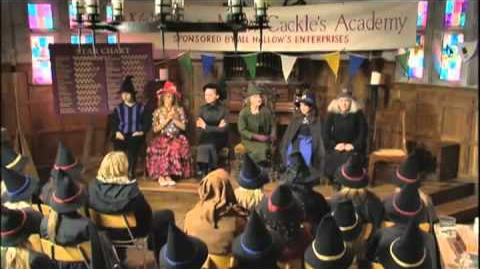 """The Levitating Boomerang Broomstick"""" Part 3 - The New Worst Witch"""