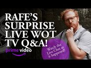 NEW- Rafe's Surprise Wheel of Time TV Show Live Chat Q&A at The Dusty Wheel!