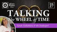 Wheel of Time TV Show Consultant Sarah Nakamura!
