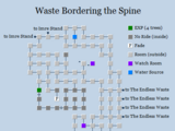 Waste Bordering the Spine