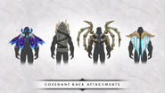 Covenant back attachments