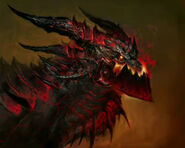 Deathwing head concept art2