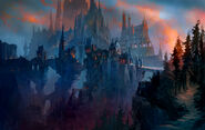World of Warcraft Shadowlands Художественная работа 4