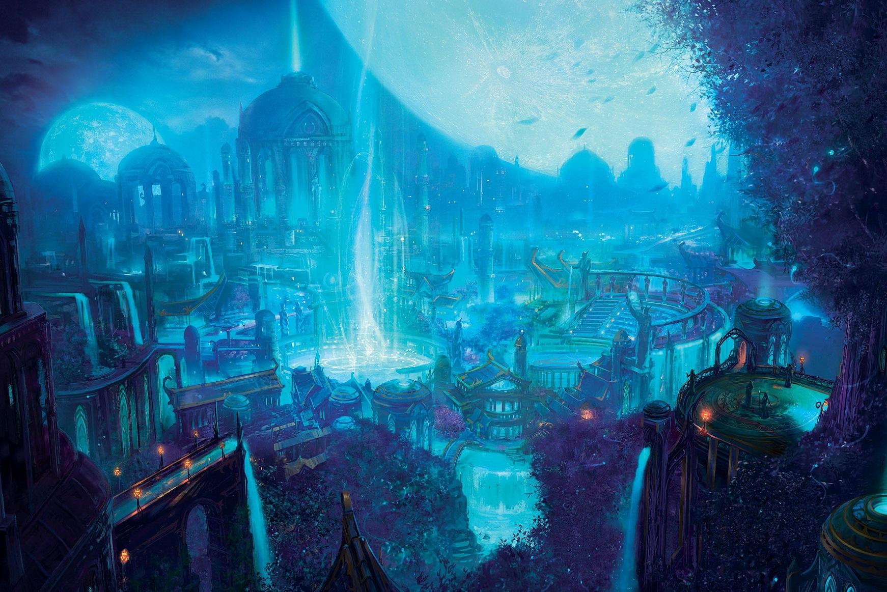 Empire elfe de la nuit