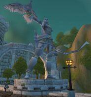 Alleria Statue