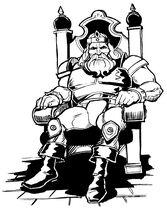 Llane dans le manuel de Warcraft 1