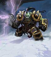 Thrall chef de guerre de la Horde