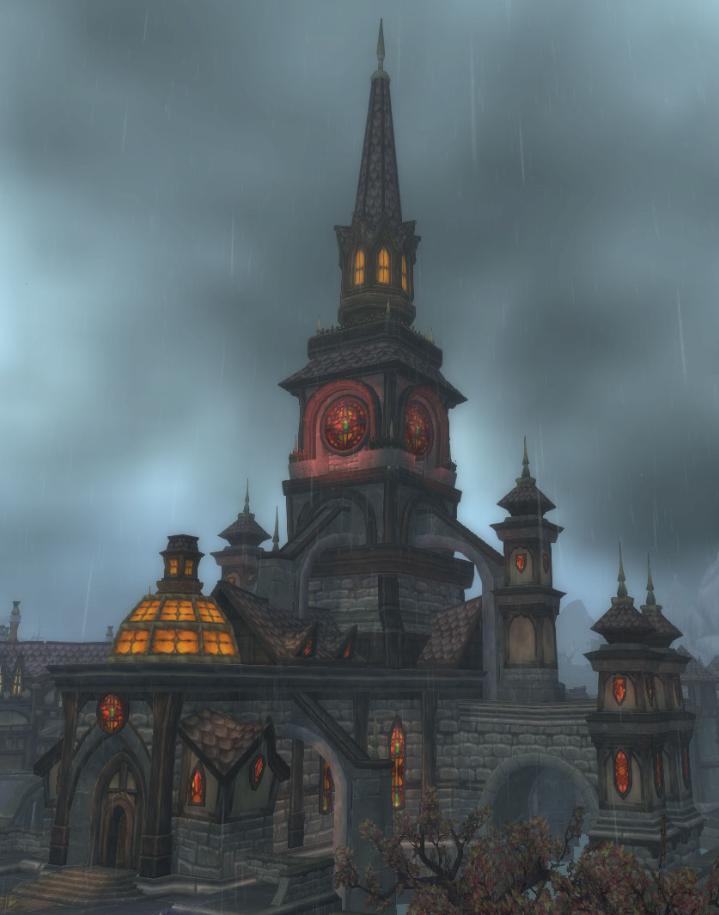 Cathédrale de l'Aube de Lumière