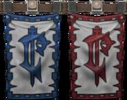 Lordaeron and Scarlet Onslaught Banner