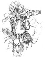 Archimonde concept art John Chalfant 1