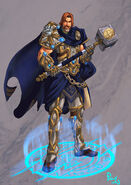 Uther The Lightbringer by pulyx