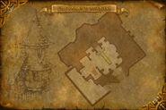 Carte Manoir de Grisetête Rez-de-chaussée