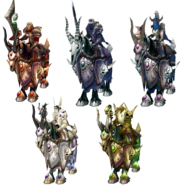Quatre Cavaliers Fléau