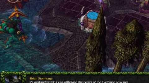Night Elf Campaign Interlude Malfurion's Vision