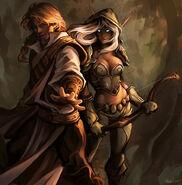 Vereesa and rhonin