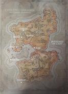 Carte - Chroniques 1 - Cités-États d'Arathor