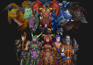 Wow the dragon aspects by ereptile-d4b9dj8
