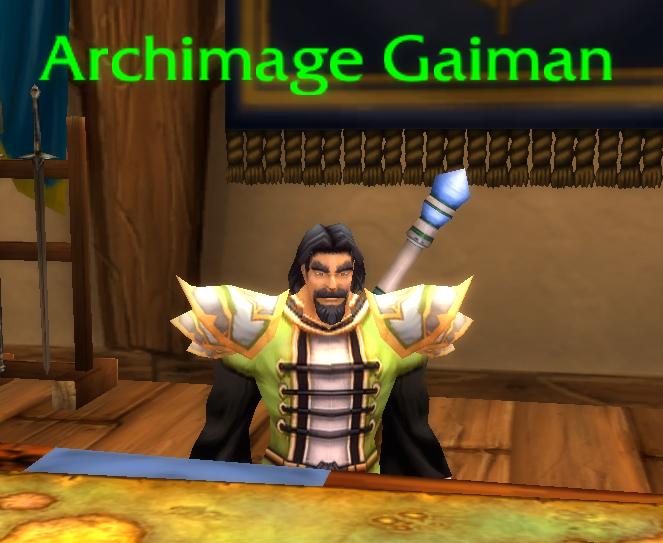 Archimage Gaiman