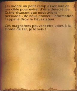 Journal d'espion