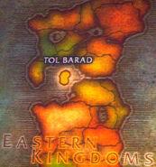 Местоположение Тол Барада