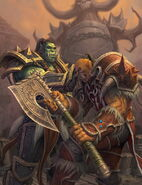The Shattering - Thrall and Garrosh