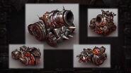 Iron Horde siege vehicles