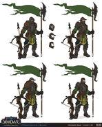 Kul Tiran Guard Set concept 3