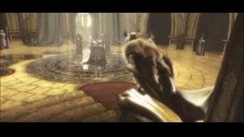 Prince Arthas Kills His Father Warcraft III Cinematic