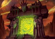 The Dark Portal Unknown Artist